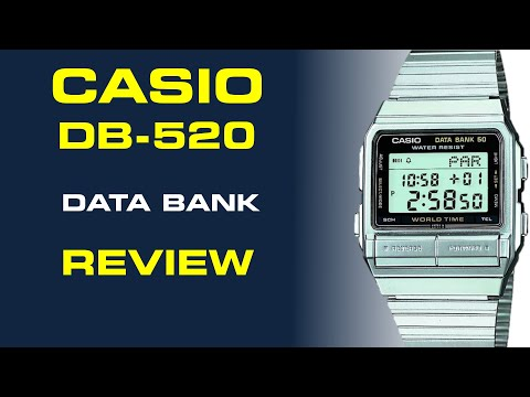 Casio Vintage Data Bank DB-520 Review