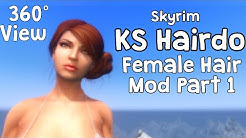 Skyrim Special Edition Mod Review KS Hairdos Male
