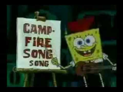 campfire song song reversed lyricsfrom spongebob squarepants youtube