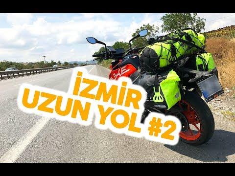 İSTANBUL - İZMİR MOTOSİKLETLE UZUN YOL - İZMİR #2