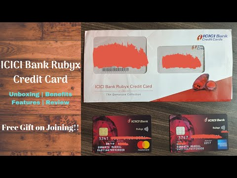 ICICI Bank Rubyx Credit Card Unboxing Benefits Features & Review | Free Headphone 🔥🔥🔥