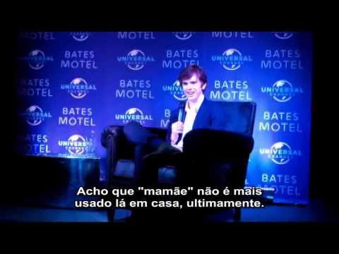 Série Maníacos   Entrevista Legendada com Freddie Highmore de Bates Motel