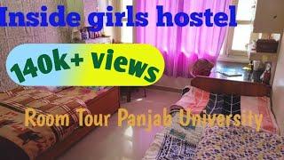 Inside Girls Hostel Panjab University Room Tour-Chandigarh