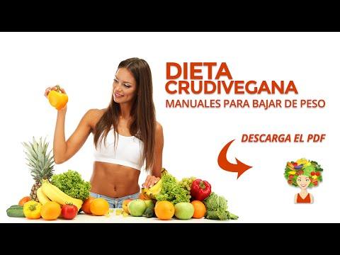 Dieta Crudivegana - para bajar de peso y adelgazar PDF
