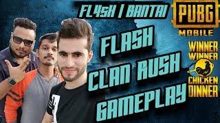 #Rowdygaming PUBG MOBILE LIVE   Rush Gameplay like Dynamo Gaming, Mortal, Alpha   FL4sH   BANTAI