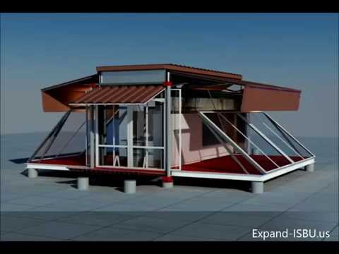 Small container transformed into a real home ebs block for Ebs homes
