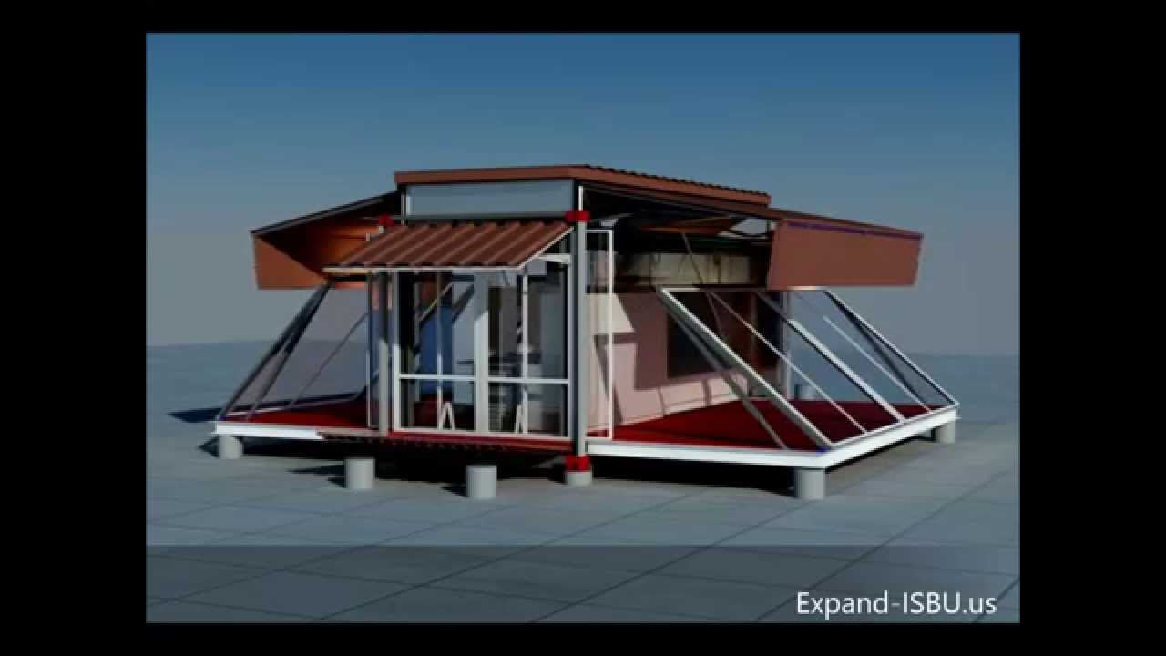 small container transformed into a real home-ebs block- expandable