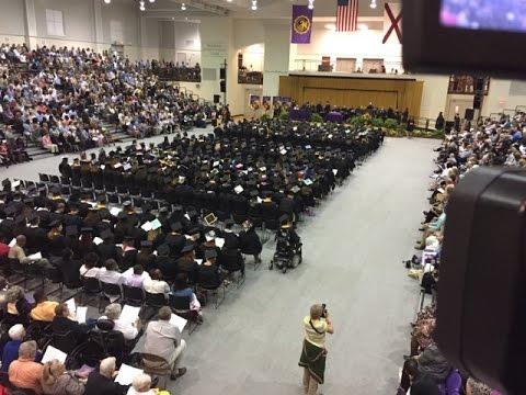 University of Montevallo Spring 2017 Graduation Ceremony