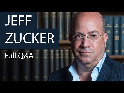 Jeff Zucker | Full Q&A | Oxford Union