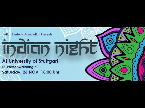 Indian Night 2016 - University of Stuttgart