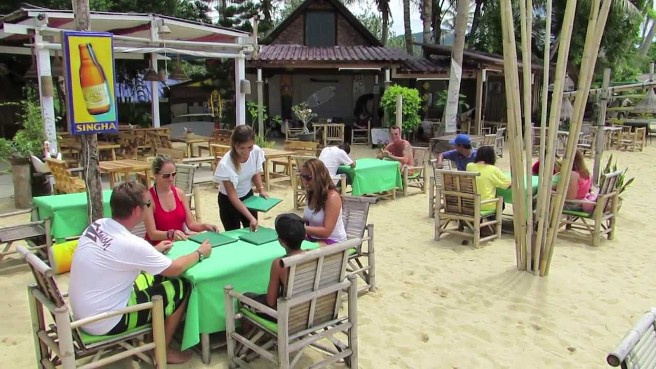 Nature Bar Restaurant Bungalows Koh Samui Thailand