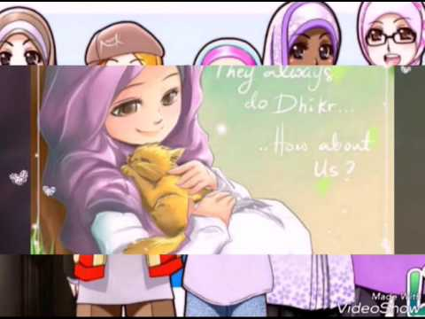 Unduh 550  Gambar Animasi Kartun Wanita Muslimah HD Terbaru