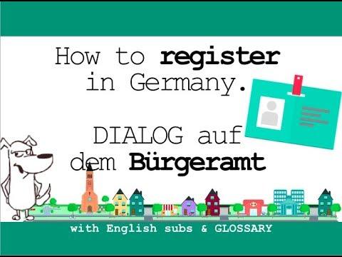 Register Deutsch