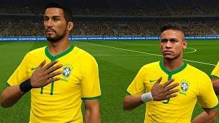 PES 2016 - RUMO AO ESTRELATO #11 - ESTRÉIA NA SELEÇÃO BRASILEIRA no MINEIRÃO (Gameplay PS4/XONE)