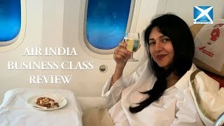 AIR INDIA BUSINESS CLASS REVIEW