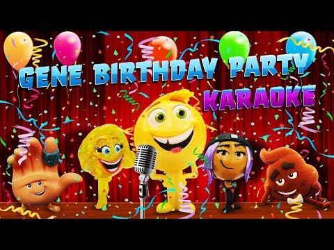 Emoji Movie Gene's Birthday Karaoke Singing Competition! Gene Smiler Hi-5 & Jailbreak Birthday Party