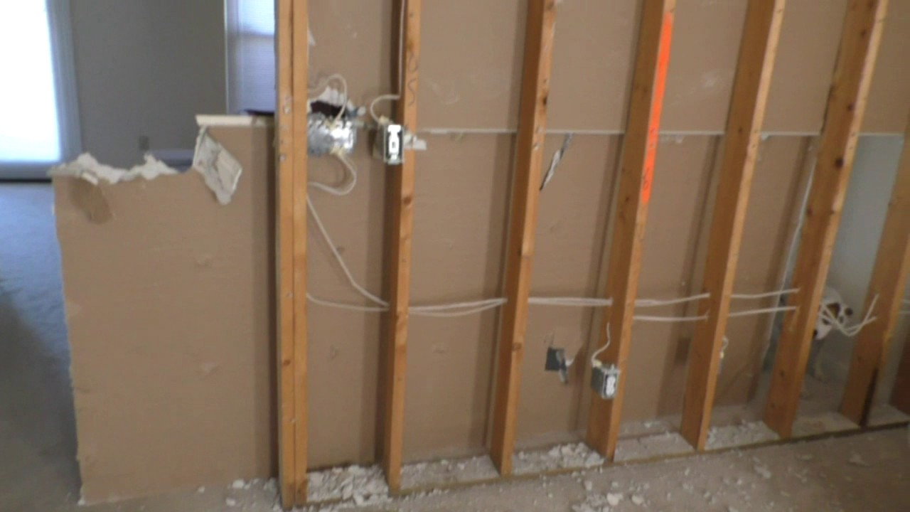 How To Remove A Load Bearing Wall When It Has Electrical