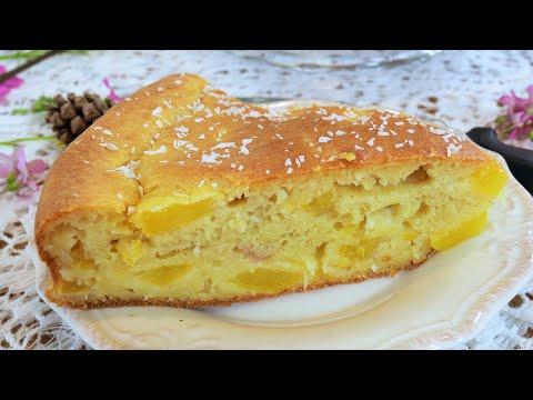 recette-de-gâteau-sans-sucre-et-sans-lactose---moelleux-aux-pommes-healthy