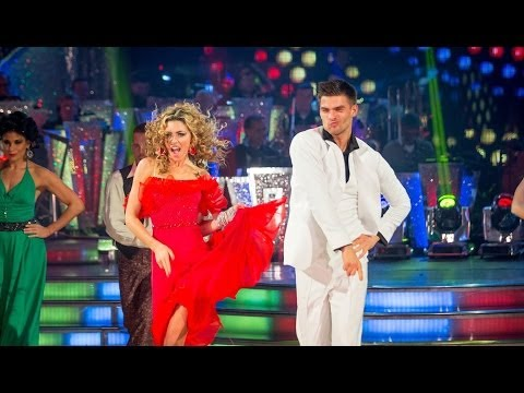 Abbey Clancy & Aljaz dance the Salsa to 'You Should Be Dancing' - Strictly Come Dancing - BBC One