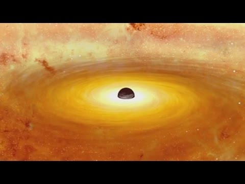 supermassive black hole video - HD1920×1080