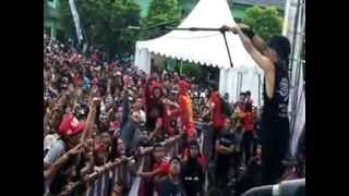 UNDERGOD LIVE @DISJAS CIMAHI   Suport endors by PRAPATAN REBEL   PART2