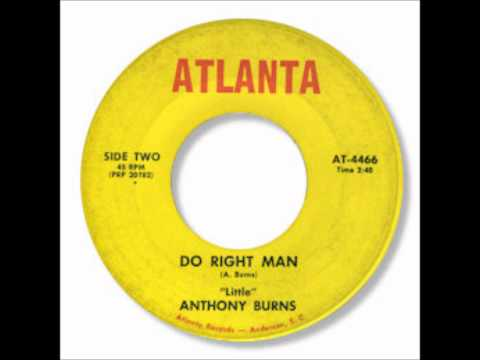 Anthony Burns - Do Right Man.