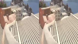 ступени города Ия острова Санторини Греция(3d video for real 3d glass санторини VIP греция Ия ступени Тира (Фира, Санторин, Санторини) — в Эгейском море входит в..., 2014-08-31T06:03:43.000Z)