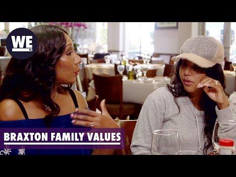 Trina & Towanda Explain the Strike | Braxton Family Values | WE tv