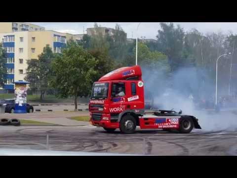 Truck drift. Motocross matches break. Elektrėnai 2016-07-06
