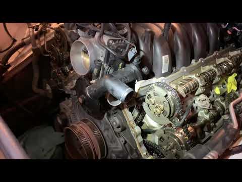 Complete Land Rover Jaguar 5.0L Timing Chains & Guides Repair