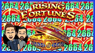 How to WIN on RISING FORTUNES Slot Machine with the Palm Springs Spinners!