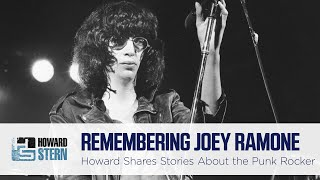 Howard Honors Joey Ramone on 20th Anniversary of His Passing