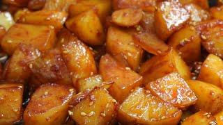 감자조림 계속 만들어 …