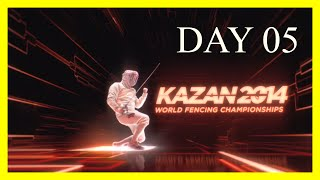 Kazan 2014 World Fencing Championships - Day05 Session 01 - Piste Yellow