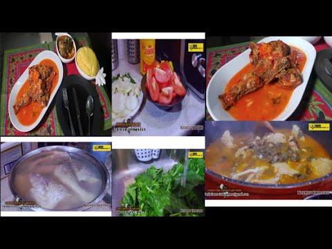 special-recette-ya-epinard-na-mabumu-&-poisson-capitaine-malua-(-nzungu-ekotoko-)