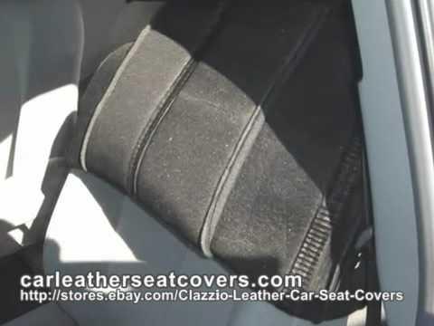 Clazzio Seat Cover Installation For Toyota Sienna 2011Model