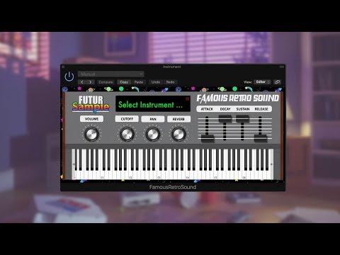 FUTUR Sample - Famous Retro Sound | Virtual Instrument |