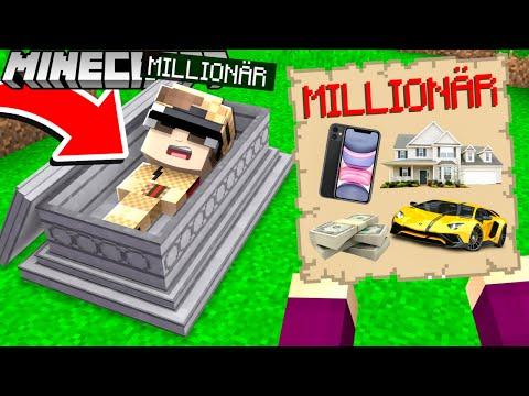 1000€ MILLIONÄR GRAB in Minecraft!