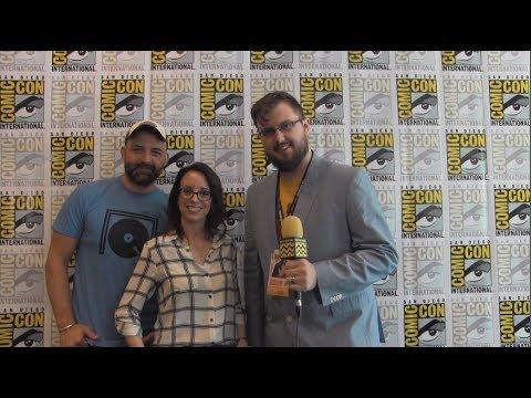 Joaquim Dos Santos & Lauren Montgomery Voltron: Legendary Defender at San Diego ComicCon 2017