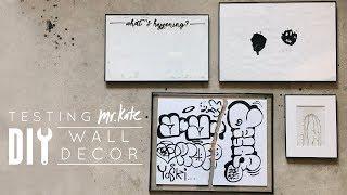 Mr. Kate Inspired DIY Wall Decor