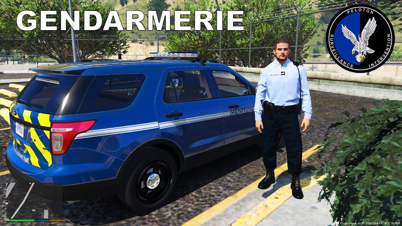 gendarmerie nationale - patrouille  1 - drixize