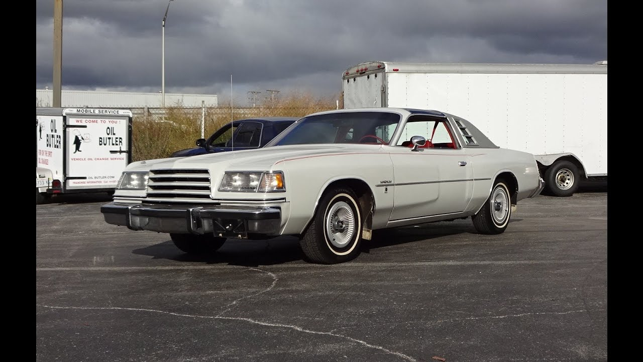 1978 Dodge Magnum XE with a T Top in Gray Paint & Engine Sound on My