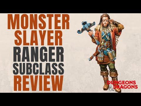 Monster Slayer Ranger - D&D 5e Subclass Series