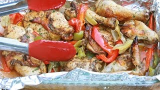 Grandma Barb's Roasted Pepper Chicken Recipe