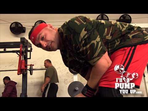"Tim Muriello Beats Down ""Linda"" Workout at Metroflex Gym Long Beach California"