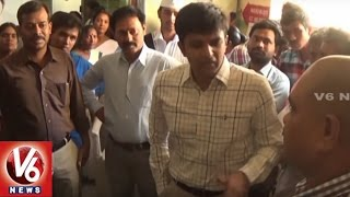 Collector Krishna Bhaskar Inspection In Govt Hospital | Rajanna Sircilla District | V6 News