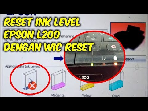 Epson L800 Reset Ink Level After Refill Also Work For Reset Epson