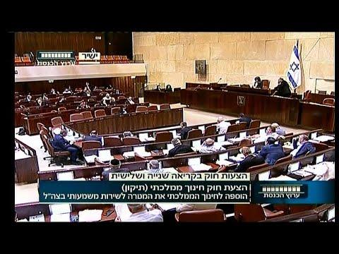 الكنيست الإسرائيلي يمنع جماعات حقوقية يسارية من دخول المدارس…  - 11:21-2018 / 7 / 17