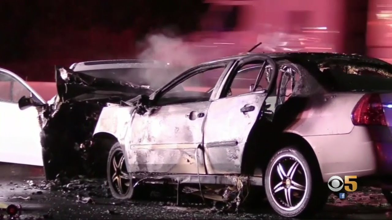 Wrong-Way Driver Caught On Video Before Fatal Hwy 101 Crash In Palo Alto