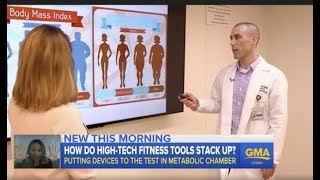 Dr. Dori Arad on ABC Good Morning America putting high-tech fitness trackers to the test